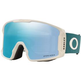 Oakley Line Miner XL Lunettes de ski Homme, grey balsam/prizm sapphire iridium